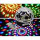 Glob cu lumini multicolore + stick de muzica