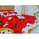 Lenjerie de pat cu efect 3D din bumbac satinat 1
