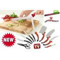 Cutite bucatarie Contour Pro Knives + Bonus bara metalica