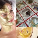 Masca de fata cu aur + Bonus BROSA martisor